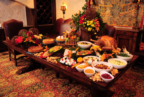 Stonehurst Manor Thanksgiving Dinner